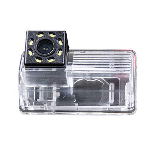 HD 720p Nachtsicht Rueckfahrkamera Wasserdicht Farbkamera 170° Rückfahrkamera Kennzeichenleuchte Einparkhilfe Kamera für Toyota Corolla Verso 2004-2100
