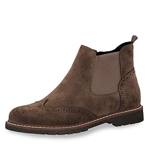 s.Oliver Damen 5-5-25444-23 Chelsea Boots, Braun (Hazelnut Suede 332), 40 EU