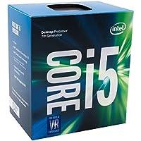 Intel Core i5-7600 - Procesador con tecnología Kaby Lake (Socket LGA1151, Frecuencia 3.5 GHz, Turbo 4.1 GHz, 4 Núcleos, 4 Subprocesos, Intel HD Graphics 630)