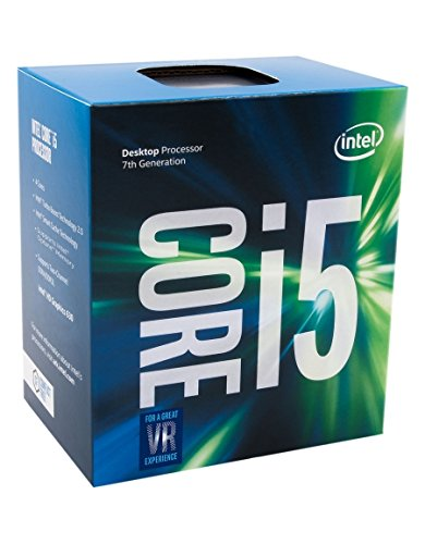 Intel Core i5-7600 Prozessor der 7. Generation (bis zu 4.10 GHz mit Intel Turbo-Boost-Technik 2.0, 6 MB Intel Smart-Cache)
