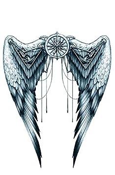 Teufel tattoo rücken engel ▷ 1001