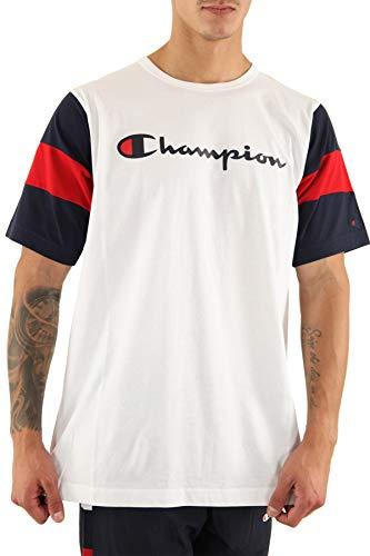 Champion T-Shirt para Hombre Blanco 213644WW001