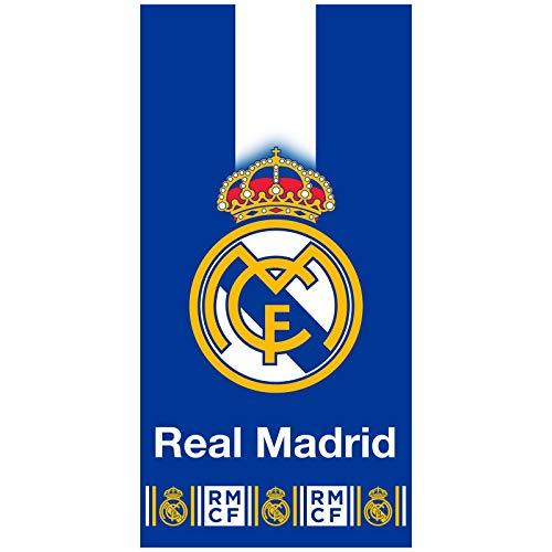 TDI RM182002-R Roman Real Madrid - Toalla de baño (70 x 140 cm)
