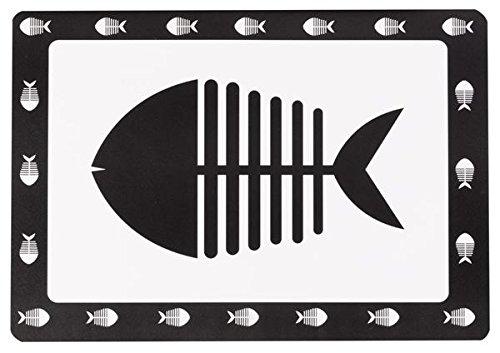 Petface Fish Pet Food tovaglietta, Grande