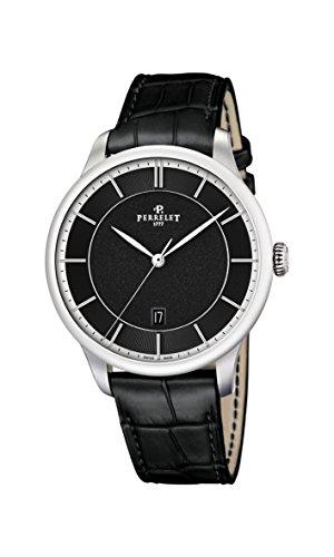 Perrelet First Class-Orologio da uomo con Display analogico e cinturino in...