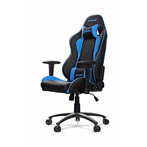 AKRacing Nitro - AK-NITRO-BL - Silla Gaming, Color Negro/Azul