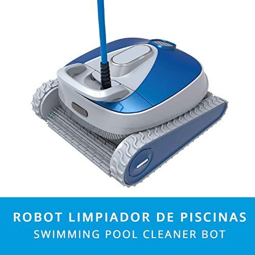 ClimaSpain Robot Limpiafondos y Paredes Piscina Spider2020