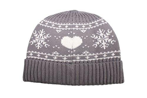 Tchibo TCM Damen Strickmütze Mütze Wintermütze weich & wärmend grau
