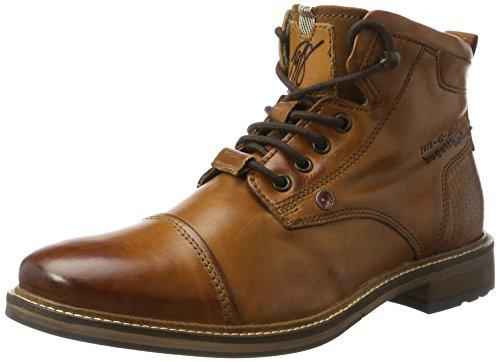bugatti Herren 311377331000 Klassische Stiefel Kurzschaft Stiefel , Braun , 41 EU