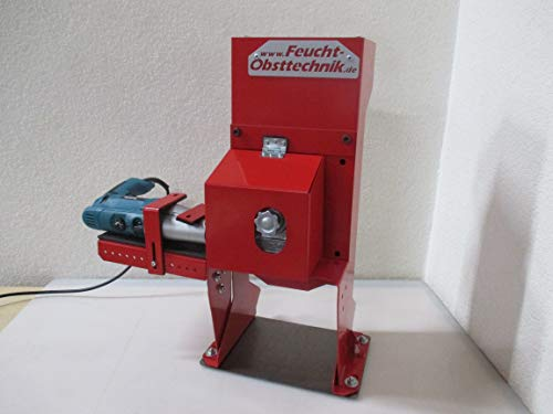 Elektrische walnootknackmachine voor boormachine- Wal Man - het origineel Made in Germany De professionele notenkraker voor het eenvoudig kraken van wal- en hazelnoten (model 2019) rood