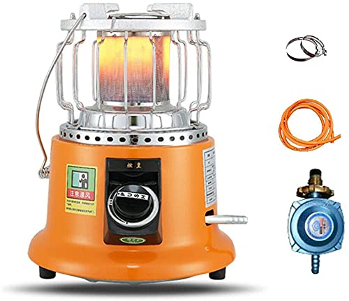Calefactor portátil al aire libre 3600W potencia con mango independiente Camping estufa multiusos portátil (gas licuado)