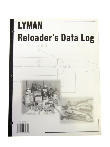 Lyman 9847261 Reloaders Log, Multi