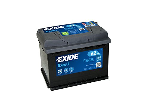 Exide EB620 EXCELL STARTERBATTERIE 12V 62AH 540A