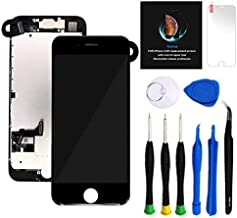Keytas Compatible with iPhone 7 Plus Screen Replacement Kit Black 5.5