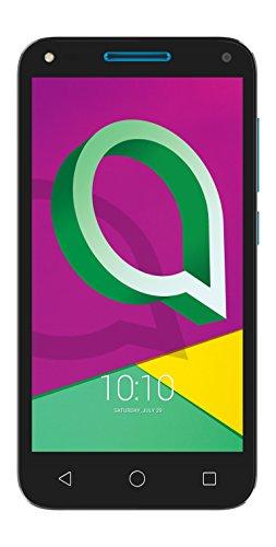 Alcatel U5 3G (4 núcleos, 8MPx, 8Gb, Dual SIM), Color Negro y Azul