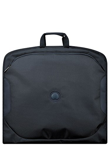 DELSEY Paris U-LITE Classic 2 Travel Garment Bag, 105 cm, 6 liters, Black (Anthracite)