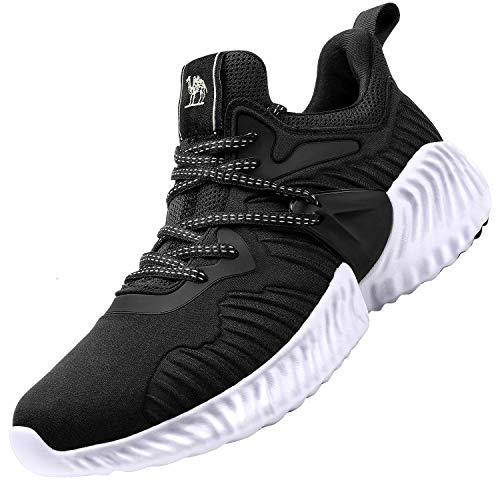 CAMEL Mens Trail Running Shoes Mesh Breathable Sneakers Lightweight Fashion Athletic Gym Shoes Casual Tennis Sport Shoes for Workout Walking
