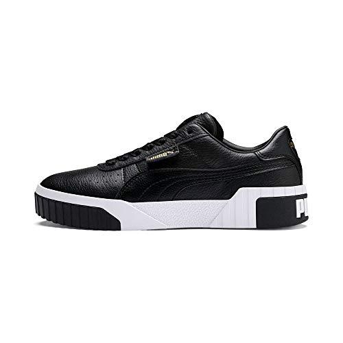 Puma Cali Wns Zapatillas Mujer, Negro (Puma Black-Puma White), 39 EU
