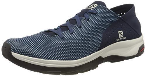 Salomon Tech Lite, Zapatillas de Senderismo acuáticas para Hombre, Azul (Niagara/Navy Blazer/Black), 40 EU