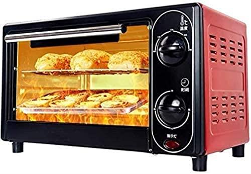 Horno de tostadora, horno Multifunción Horno eléctrico 12L Mini horno pequeño Hogar Hogar Cake Torta Artículos para el hogar