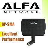 ALFA 802.11g/n WLAN Antenne 7dBi 2,4GHz RP-SMA Indoor Antenne Zimmer Antenne