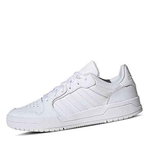 adidas ENTRAP, Scarpe da Ginnastica Uomo, Ftwr White/Ftwr White/Ftwr White, 42 EU
