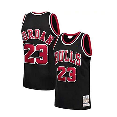 Fei Fei Camiseta de Baloncesto Michael Jordan # 23 Chicago Bulls para Hombres, los fieles Seguidores,A,XXL