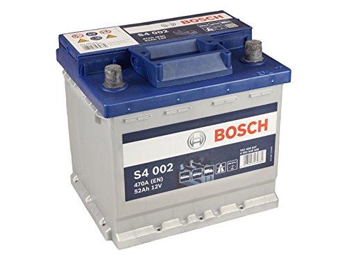 Starterbatterie S4-12 Volt, 52 Ah, 470 A | Bosch (0092S40020) | Batterie | Startanlage (inkl. Pfand)