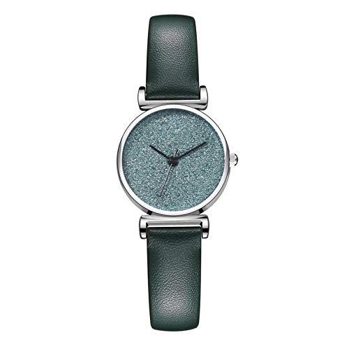 APOKIOG Relojes Reloj Análogo clásico para Mujer de Cuarzo con Correa en Acero Inoxidable, Luxury Temperament Ladies Belt Watch Analog Arabic Digital Quartz Watch