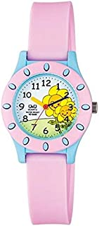 Q&Q Kid's Blue Dial Resin Band Watch VQ13J007Y