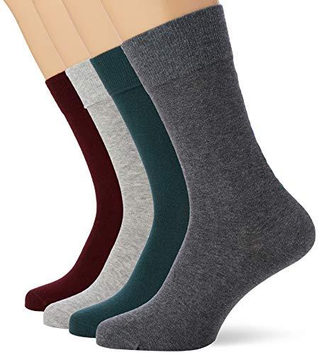 Marc O'Polo Body & Beach Herren M (4-PACK) Socken, Mehrfarbig (sortiert 1 901), 43/46 (4er Pack)