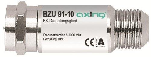 Axing BZU 91-10 BK-Dämpfungsglied (5-1006MHz, 10 dB)