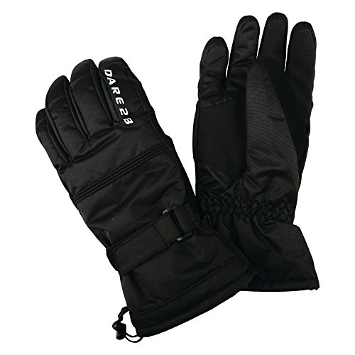 Dare 2b Herren Summon II Waterproof Insulated Ski Handschuhe, Schwarz, M