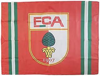 FC Augsburg Fahne Logo 100x140cm Rot