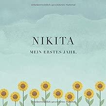 Nikita Mein Erstes Jahr Baby Tagebuch I Babyalbum I