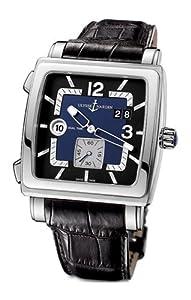 Ulysse Nardin Men's 243-92/632 Quadrato Dual Time Watch image