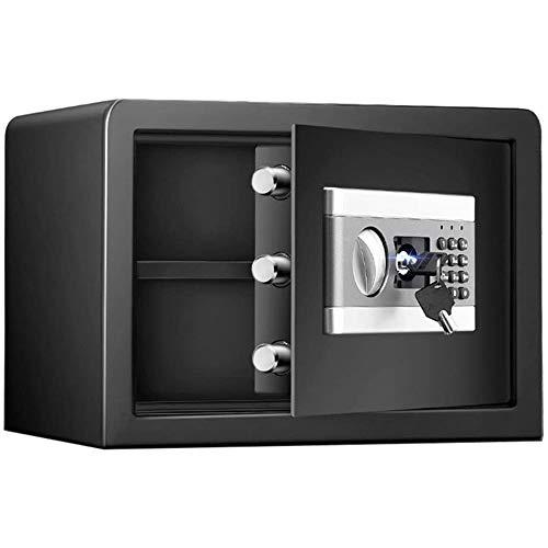 IGLZ Seguridad electrónica Caja de Seguridad Digital, de Acero Material de la Placa incombustible Profesional, Drillproof y Burglarproof Cajas Fuertes, Grande Fuerte de Almacenamiento