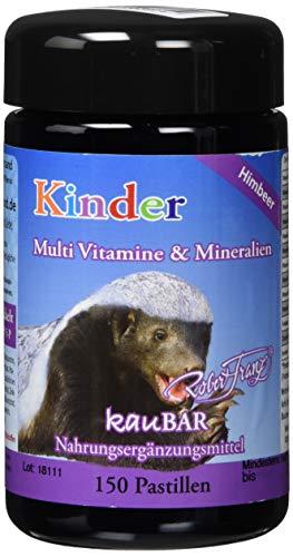 Robert Franz Kinder Multi Vitamine & Mineralien  150 Pastillen für Schlaufüchse