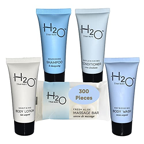 H2O 1-Shoppe All-In-Kit Amenities For Hotels, Airbnb & Rentals