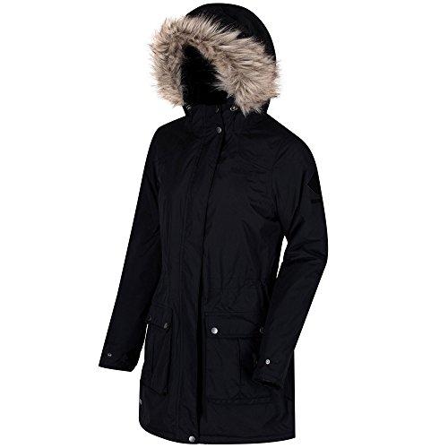 Regatta Damen Schima II wasserdichte, isolierte Jacken, schwarz, 44