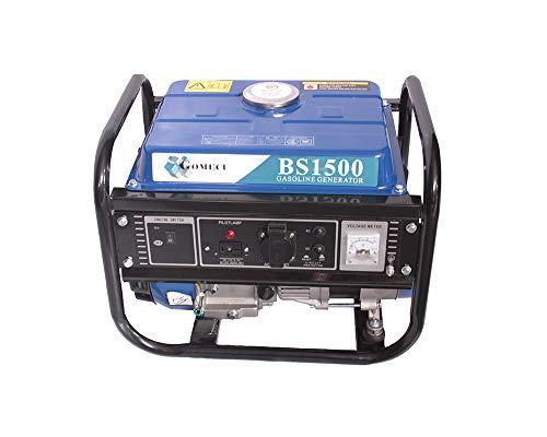 Generador de Gasolina Eléctrico 1000W 2.6HP Monofásico 220V 4 Tiempos 6L