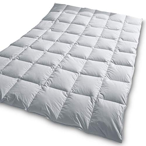 TraumDaune Premium Gänsedaunen Bettdecke »Träumchen« 135x200 cm, mittelwarm/Übergang (Wärmegrad 3), Füllgewicht: 648 g