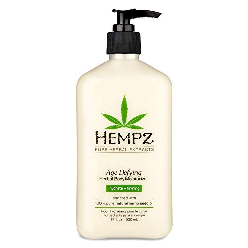 Hempz Body Moisturizer - Daily Herbal Moisturizer, Shea Butter Anti-Aging Body Moisturizer - Body...