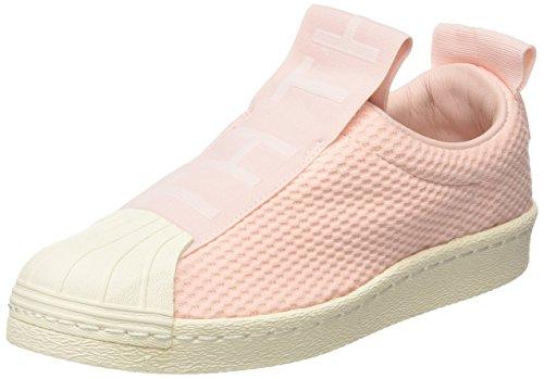 adidas Damen Superstar Bw3S Slipon W Fitnessschuhe, (Icey Pink F17/Icey Pink F17/Off White), 40 2/3 EU