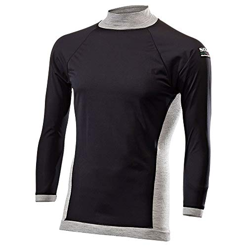 SIXS TS3MER-GRY-LXL Maillot Ts3 Mérinos, Gris, Taille L/XL