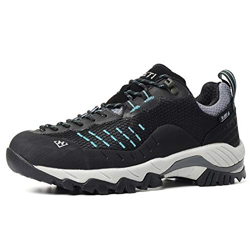 XPETI Women's Moji Waterproof Hiking Shoe Black 9.5