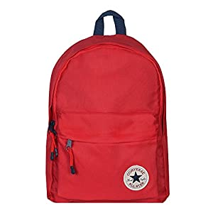 41 D1sMfxlL. SS300  - Converse Mochila infantil 38 cm, 14 litros, color rojo