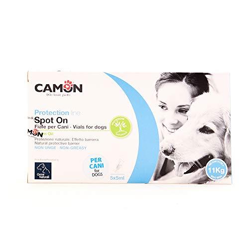 Camon Spot On - Ampollas de Aceite de nim para Perros de más de 10 kg, huertas Naturales