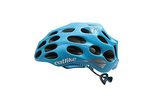 Catlike Mixino Casco de Ciclismo, Unisex Adulto, Azul Mate, MD (55-57cm)