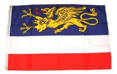 Fahne Stadtflagge Rostock NEU 60 x 90 cm Flaggen Fahnen